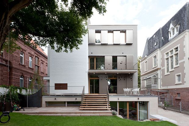 Architekten Heidelberg h24 design stadthaus heidelberg by radius ingenieure http