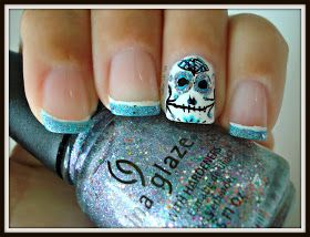Southern Sister Polish: 13 Days of Halloween....Day 3 Sugar Skulls