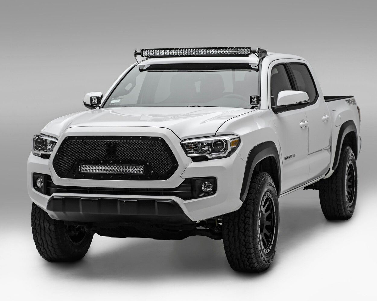 2016 tacoma trd off road with z roadz led lights and brackets