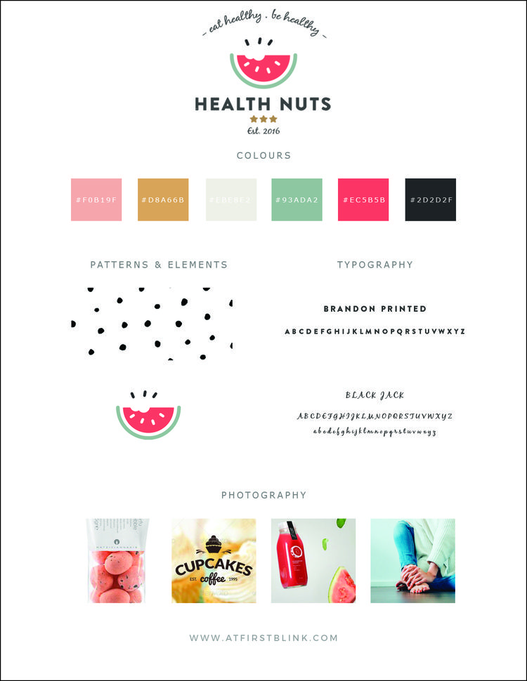 Brand Launch Health Nuts