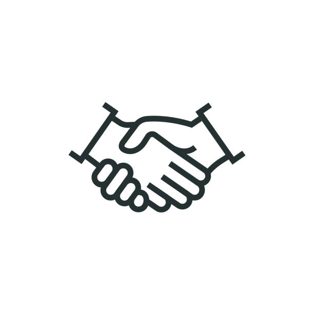 Vector Handshake Icon Agreement Hand Shake Handshake Png And Vector With Transparent Background For Free Download Hands Icon Instagram Highlight Icons Graphic Design Background Templates