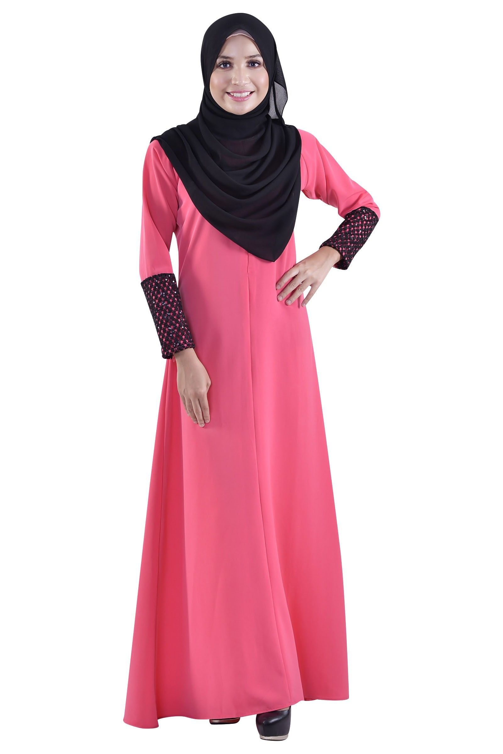 Dot\'s For Sure Dress Muslimah-Jubah & Abaya | Jubah Muslimah | Pinterest