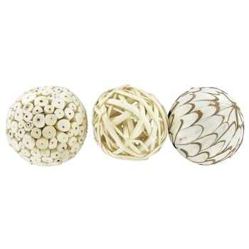 White Natural Beauty Handmade Decorative Spheres Den Pinterest Awesome Natural Decorative Balls