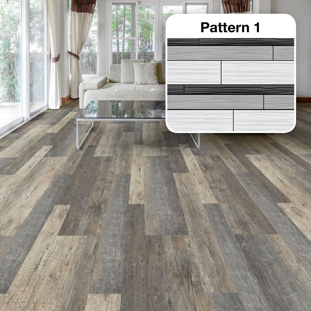 Who Installs Flooring For Home Depot: LifeProof Metropolitan Oak Multi-Width X 47.6 In. Luxury