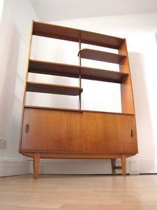 Mid Century Modern teak room divider Source homeloxblogspotcom