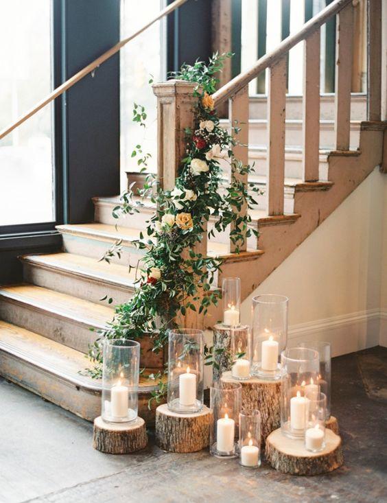 20 elegant stair decoration ideas elegant decoration and wedding 20 elegant stair decoration ideas junglespirit Images
