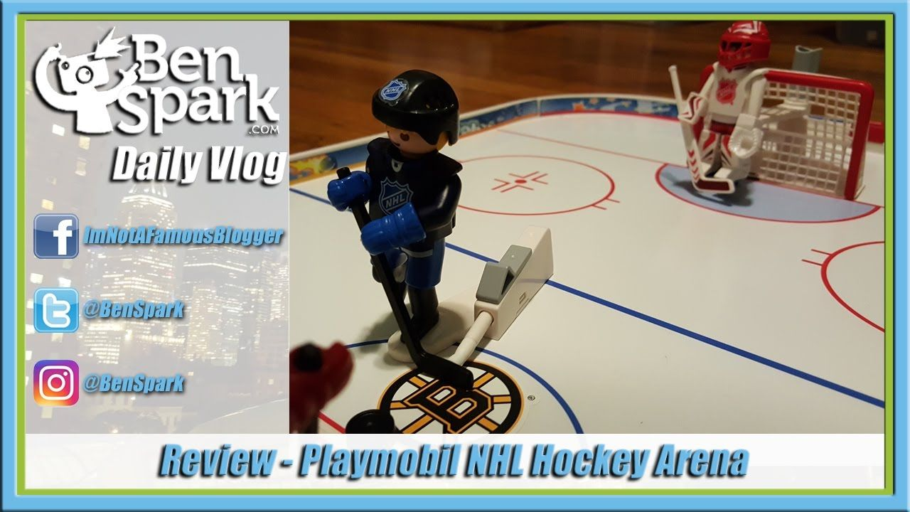 Review Playmobil Nhl Hockey Arena While We Are Not The Biggest Sports People Around We Do Enjoy Sports Toys When We W Hockey Nhl Sports Toys