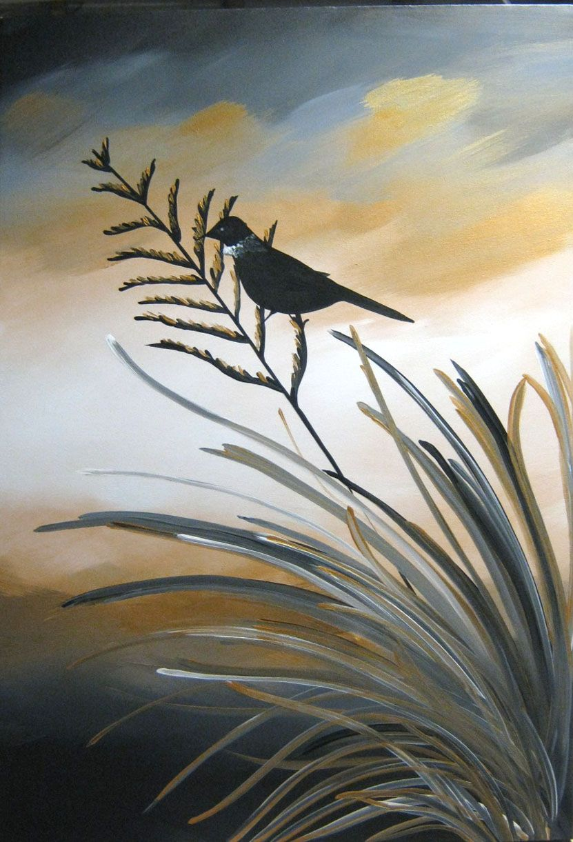 New Zealand Landscape Painting Series By Artmeganmorris