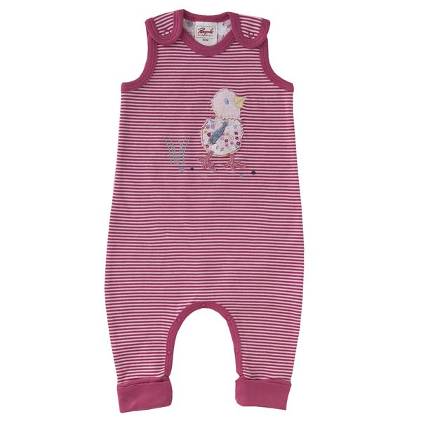 Baby One Piece Red & Blue Curled Bio People Wear Organic  – Products