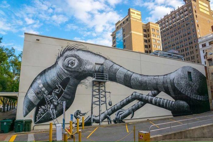 Phlegm x Art(Re)Public in Jacksonville, Florida   Urbanite
