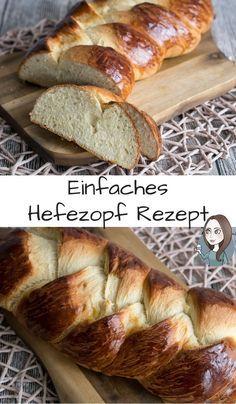 Klassischer Hefezopf Rezept - MakeItSweet.de