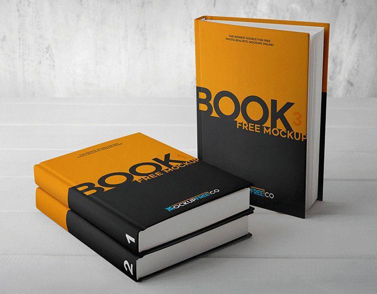 Free Hard Cover Book Mockups Book Cover Mockup Book Cover Book Cover Design