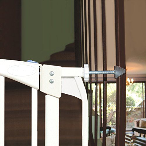 Dreambaby Banister Gate Adaptors, Silver | Banisters, Baby ...