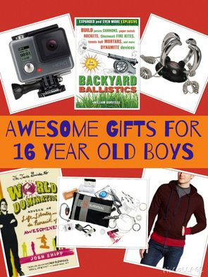 Gift Ideas for 16 Year Old Boys | Awesome gifts, Boys and Gift