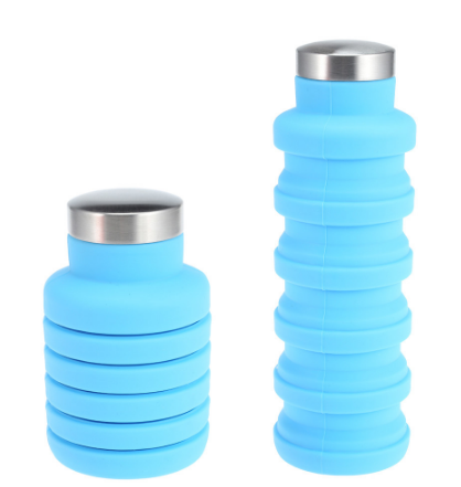 e0879f09f31d Space-Saving Collapsible Water Bottle in 2019   Kitchen Cabinets ...