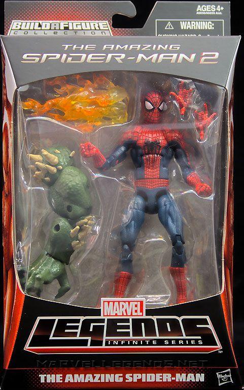 Marvel Legends Ultimate Green Goblin Complete BAF Build A Figure Spiderman