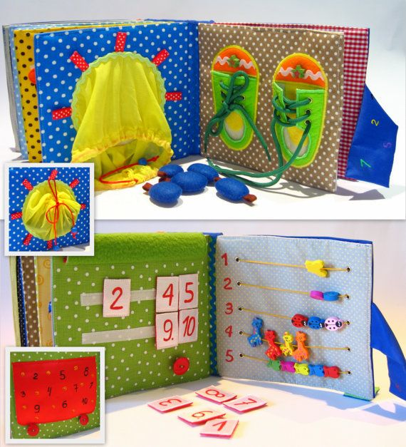 Custom Personalized Quiet Book Montessori Felt Busy Book