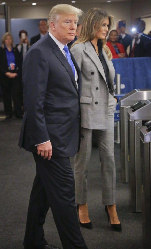 Fashion Notes: Melania Trump Stuns at U.N. In Off-The-Runway Calvin Klein