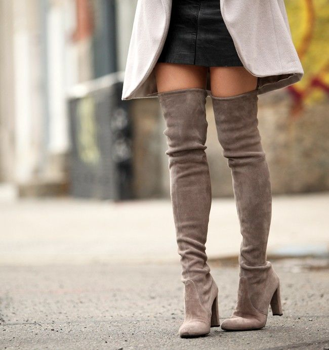 Tall Over The Knee Suede Boots - Gommap Blog