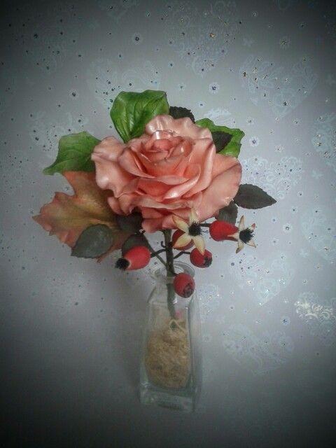 Kleines Rosengesteck
