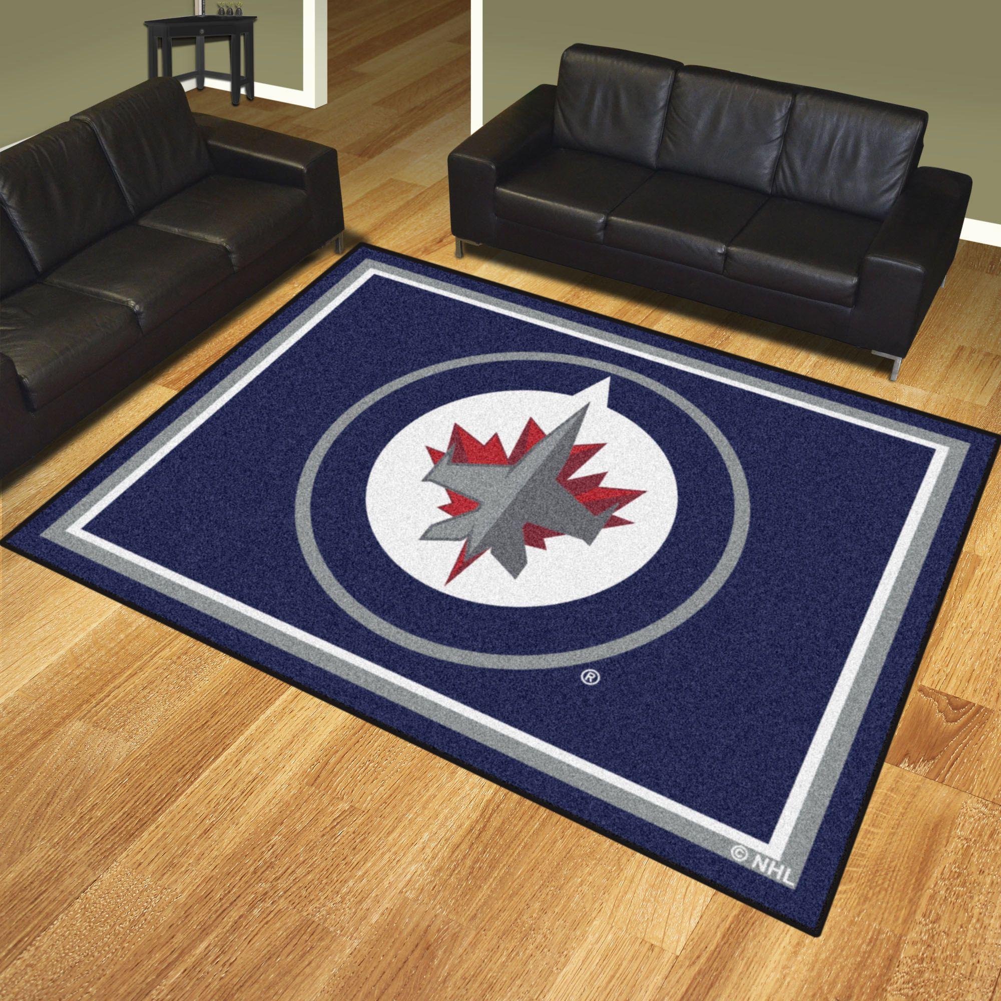 Winnipeg Jets 8x10 Rug Rugs