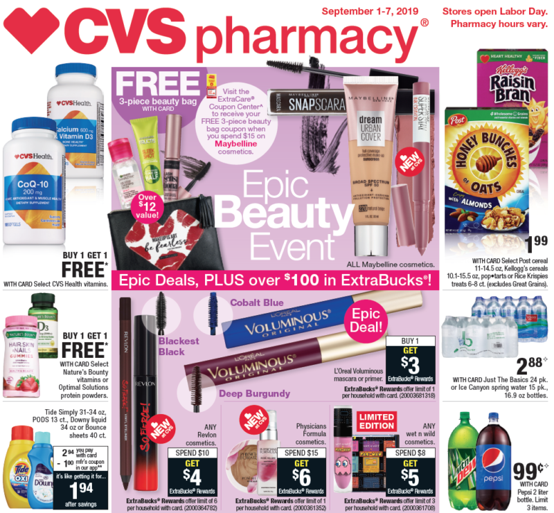 Insider Preview of the Best Deals at CVS starting 9/1