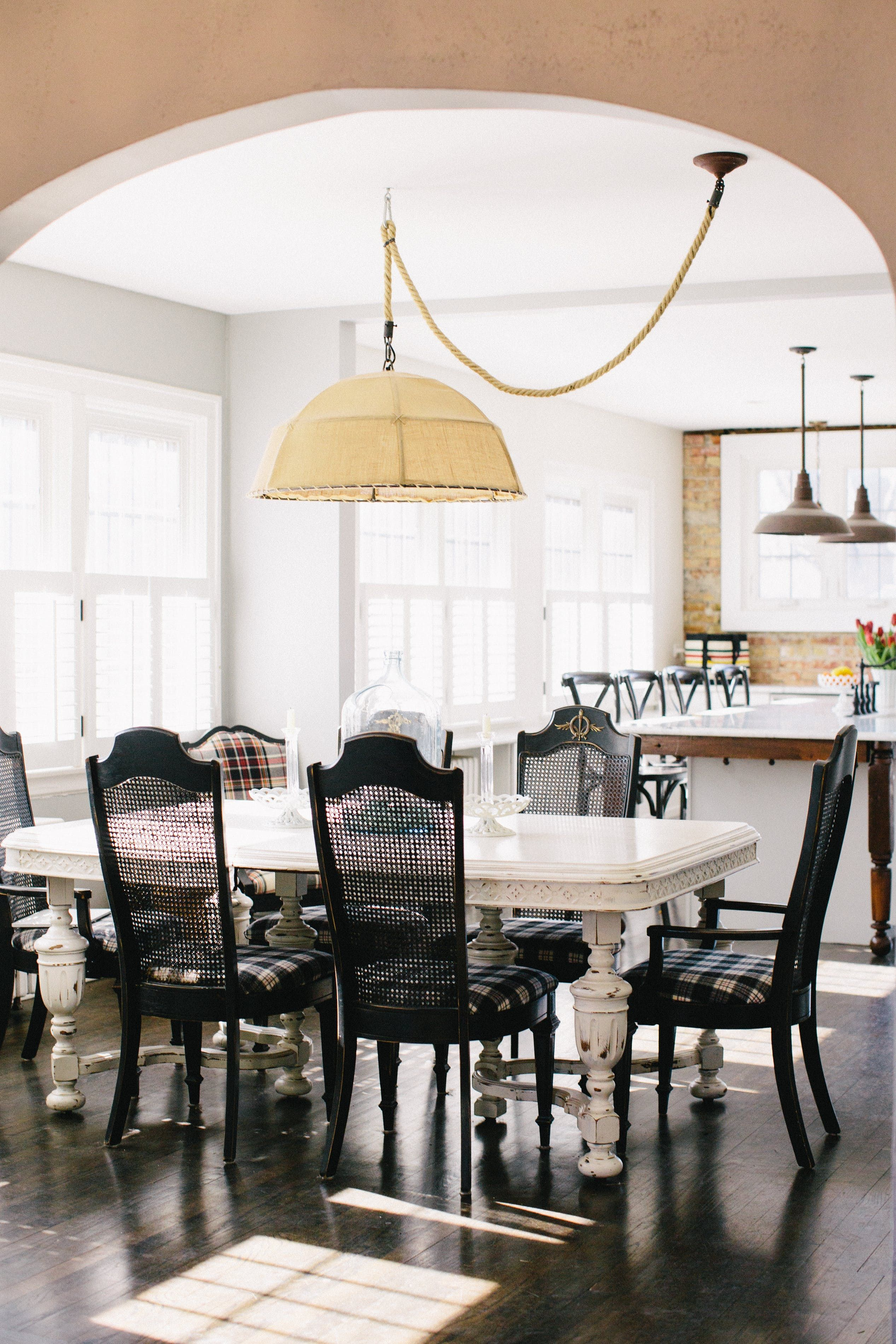 Tour a Cozy English Cottage in Illinois | Open kitchens, Dining room ...