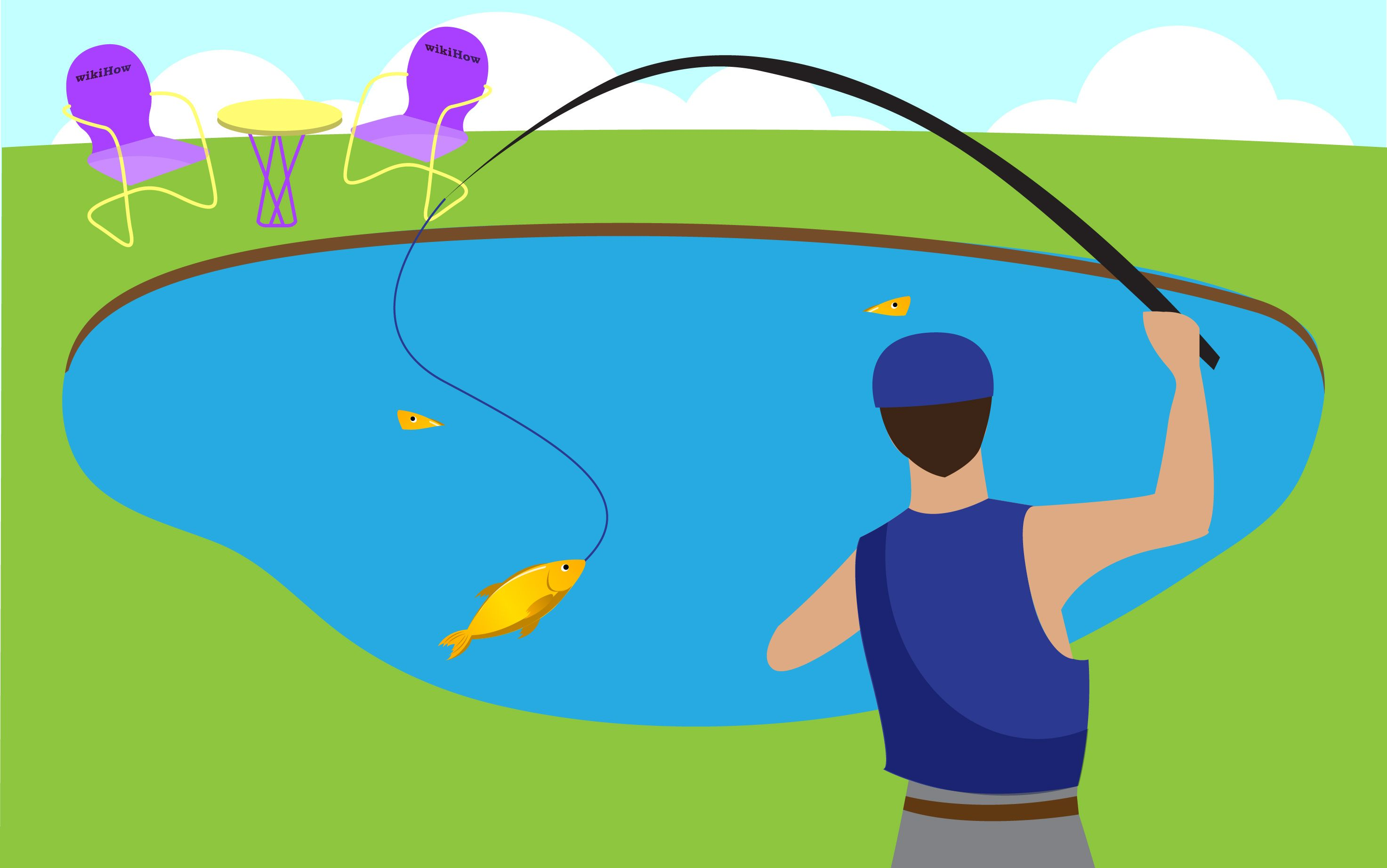 Build Your Own Fishing Pond | Pond, Fish ponds and Gardens