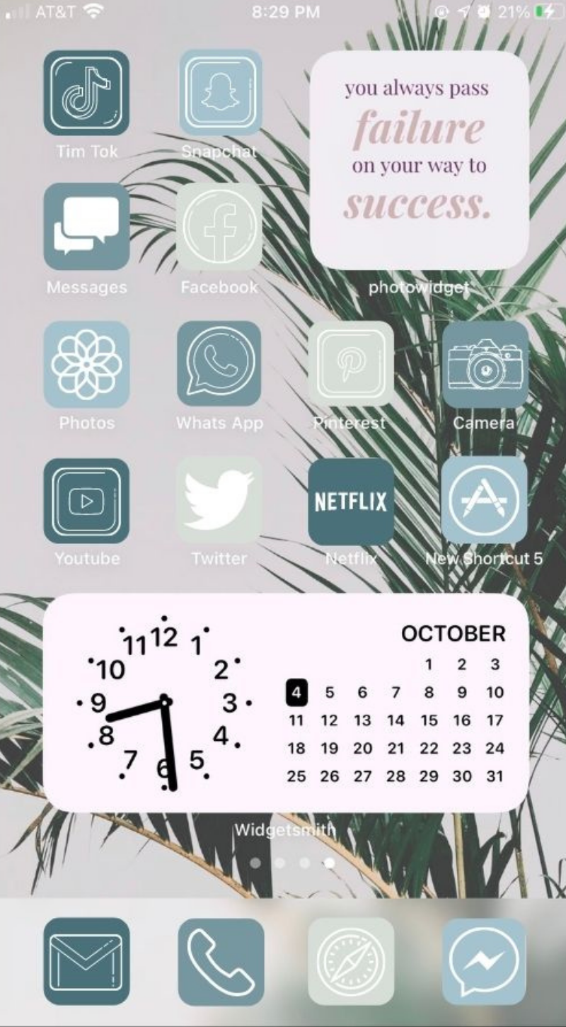 ios 14 home screen ideas aesthetic, App icons cute for iPhone!