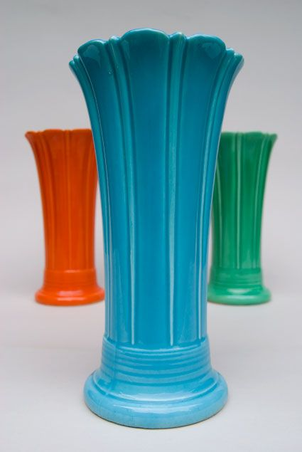 Fiestaware Vase I Want The Green One These Are A Few Of My