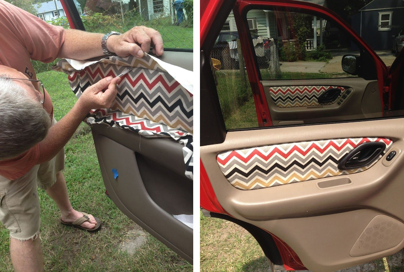 Custom Fabric Car Door Panels How To Diy Auto Car Hacks