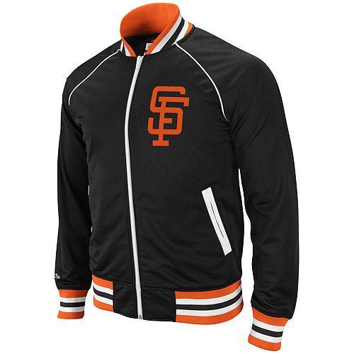 San Francisco Giants Broad Street Track Jacket by Mitchell & Ness - MLB.com Shop