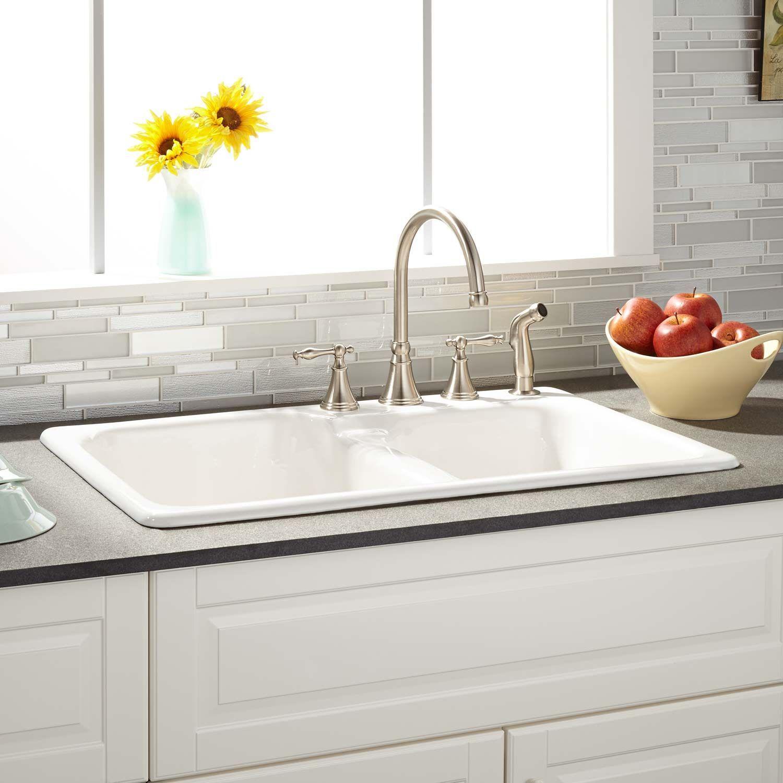 kitchen sink cast iron kitchen sinks