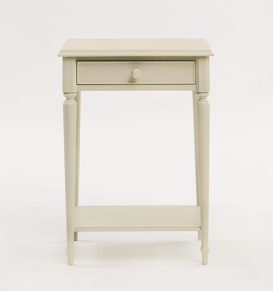 Classic bedside table - Classic Bedside Table With Shelf