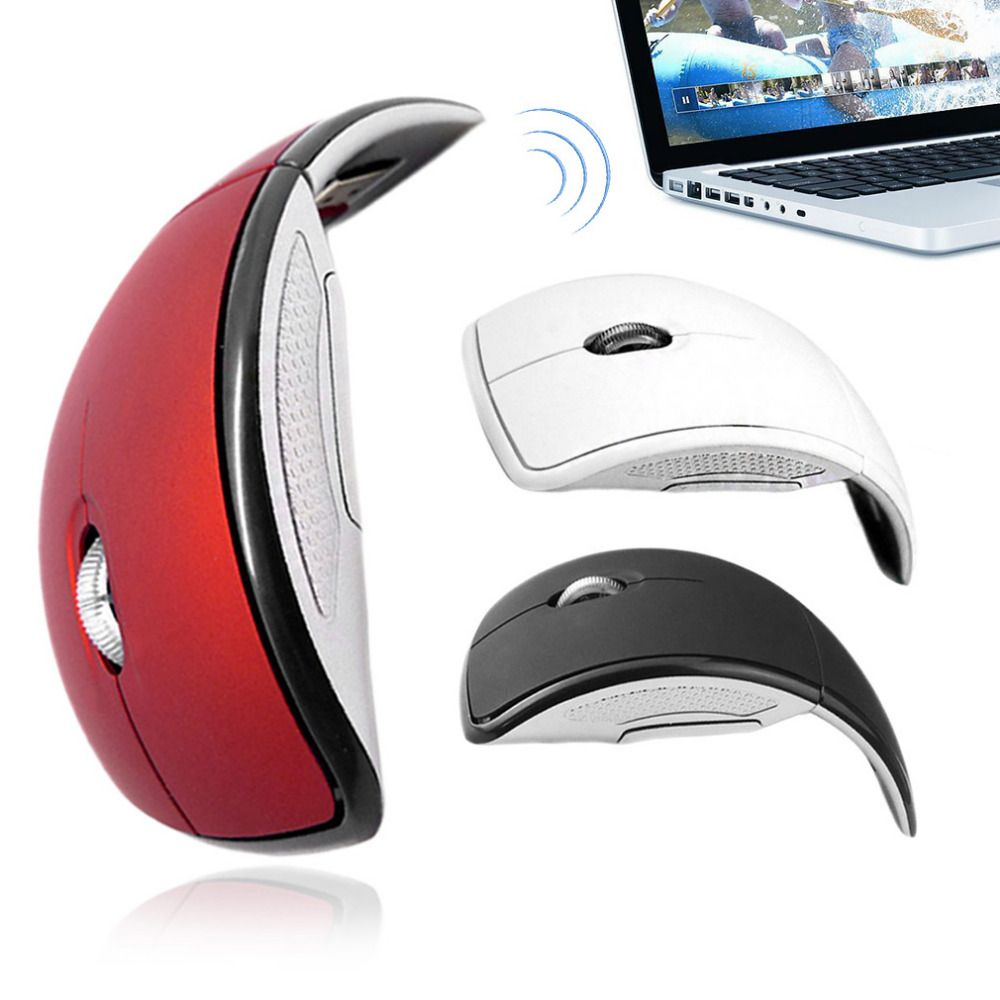 Abs 24ghz Wireless Mouse 3 Buttons Wireless Optical Usb Mouse 3d 3