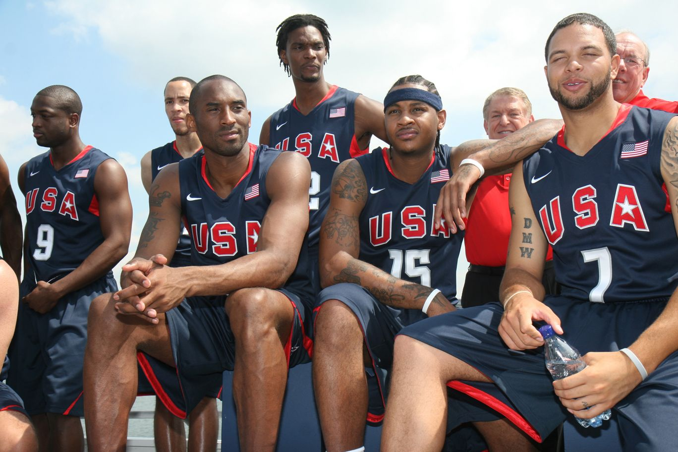 The Redeem Team Wins Gold In Beijing Olympic Basketball Basketball Games For Kids Basketball Teams