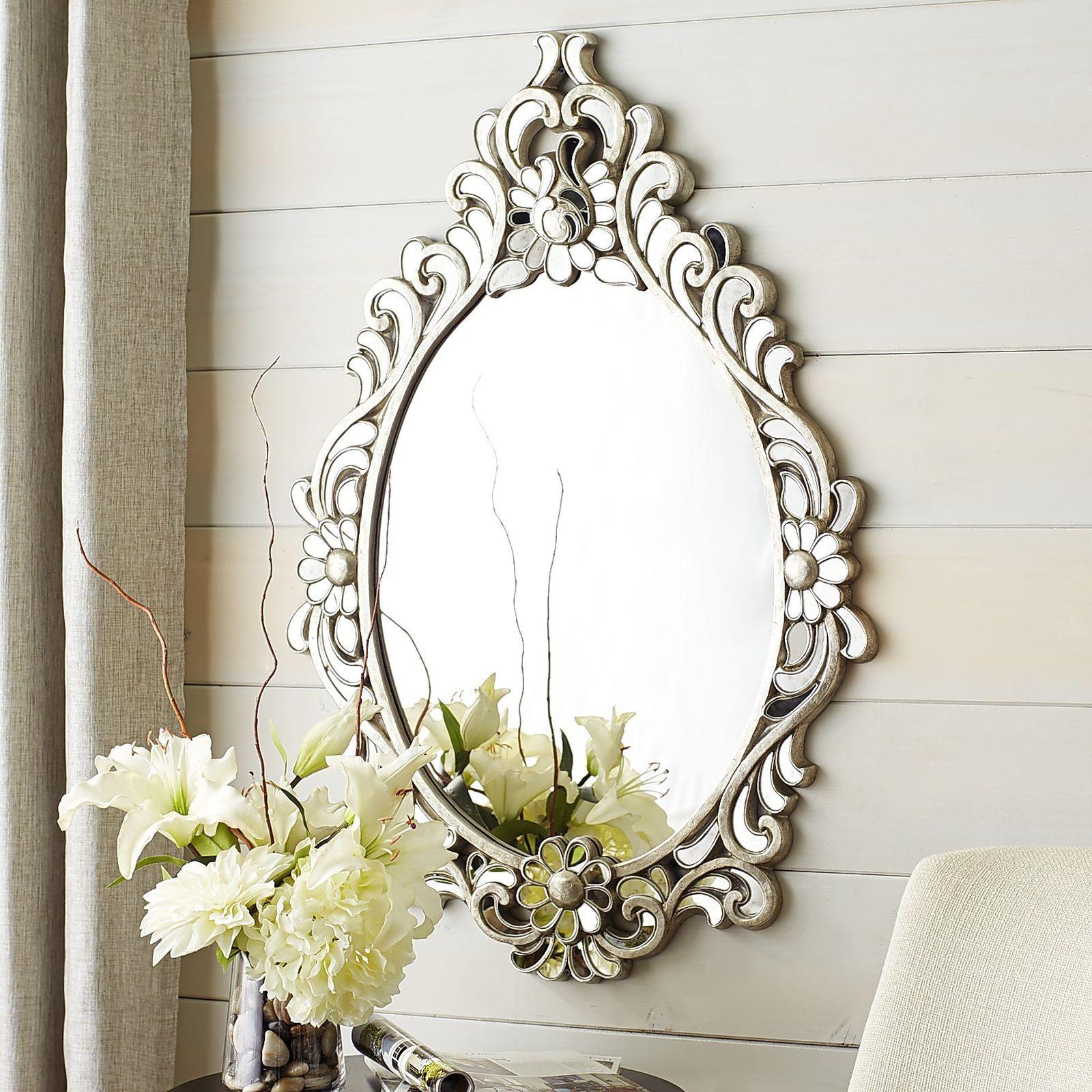 Juliette Teardrop Oval Mirror
