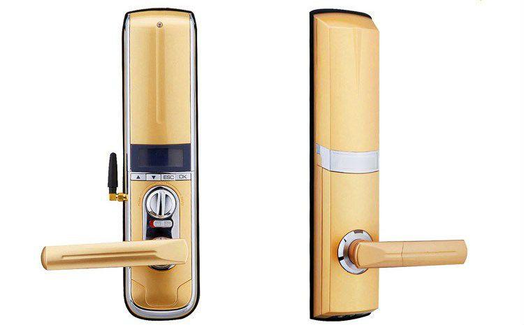 Fechadura Biométrica Top Gold com Controle Remoto