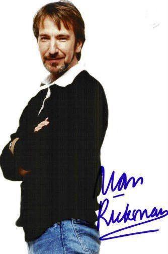 "1989 - Alan Rickman photo taken during a professional photo-shoot for ""People Magazine."""