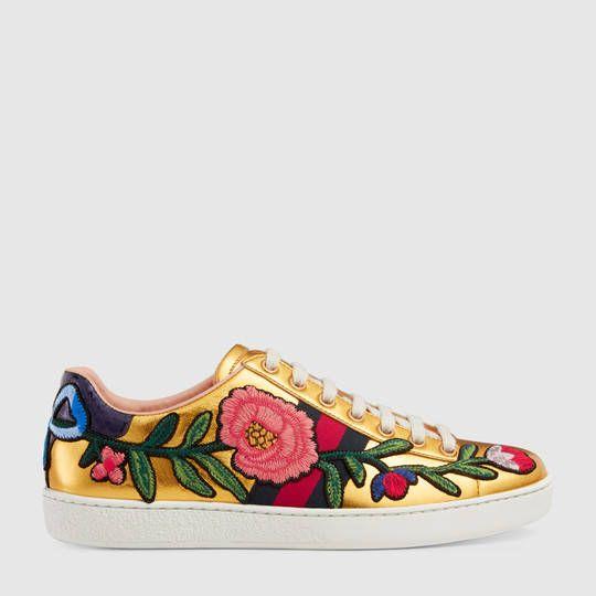 e6dd6c4f235 Gucci Ace embroidered low-top sneaker