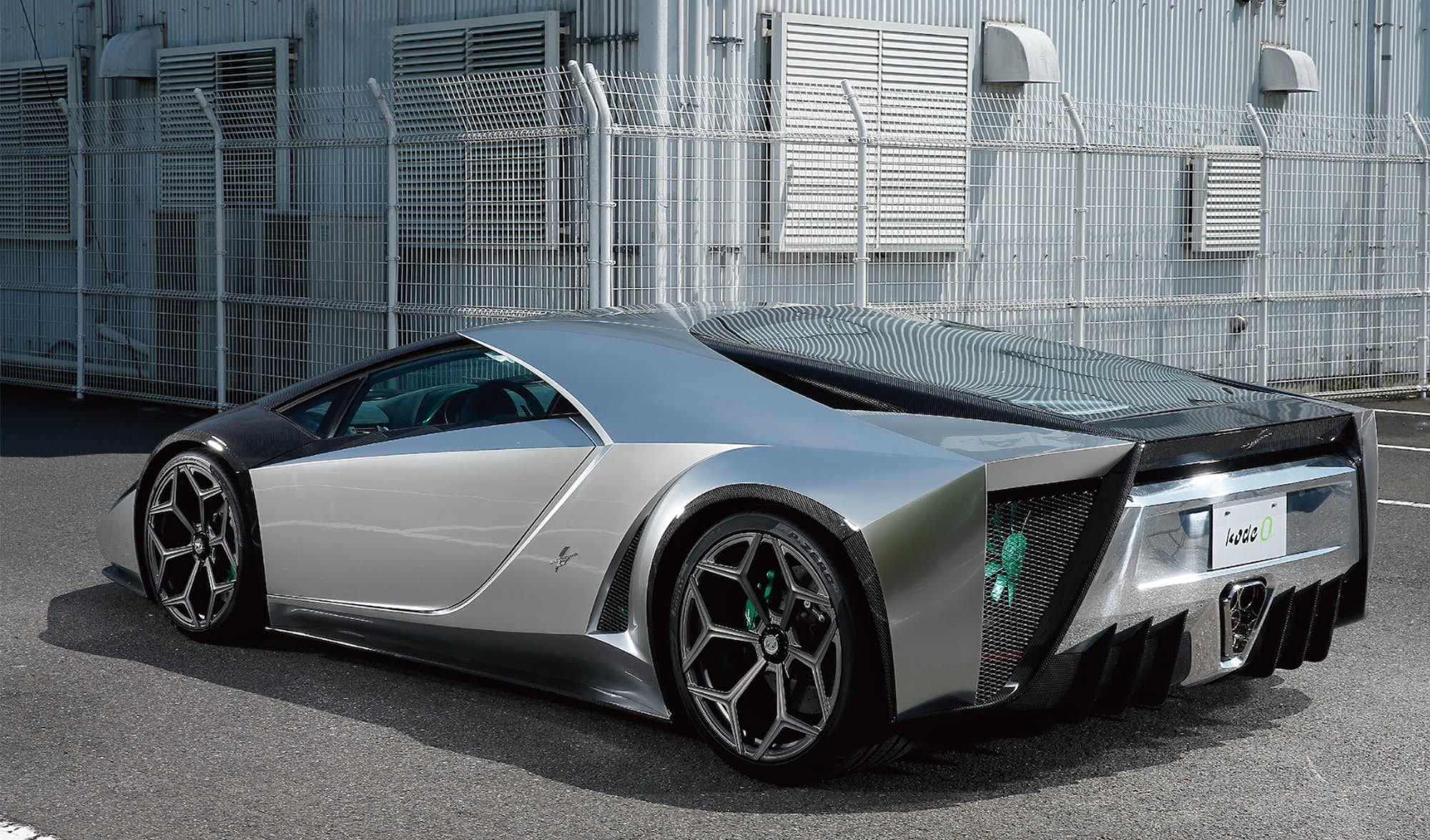 Wedge Shaped Ken Okuyama Creation Channels 70s Supercar Style Super Cars Design Futuristic Cars