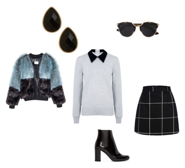 """""""Untitled #6"""" by jj-dancer ❤ liked on Polyvore featuring Edit, Yves Saint Laurent, Christian Dior, Natasha Accessories, women's clothing, women's fashion, women, female, woman and misses"""