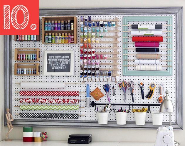 10 pr cticas ideas para ordenar tu cuarto de costura y - Ideas para ordenar ...