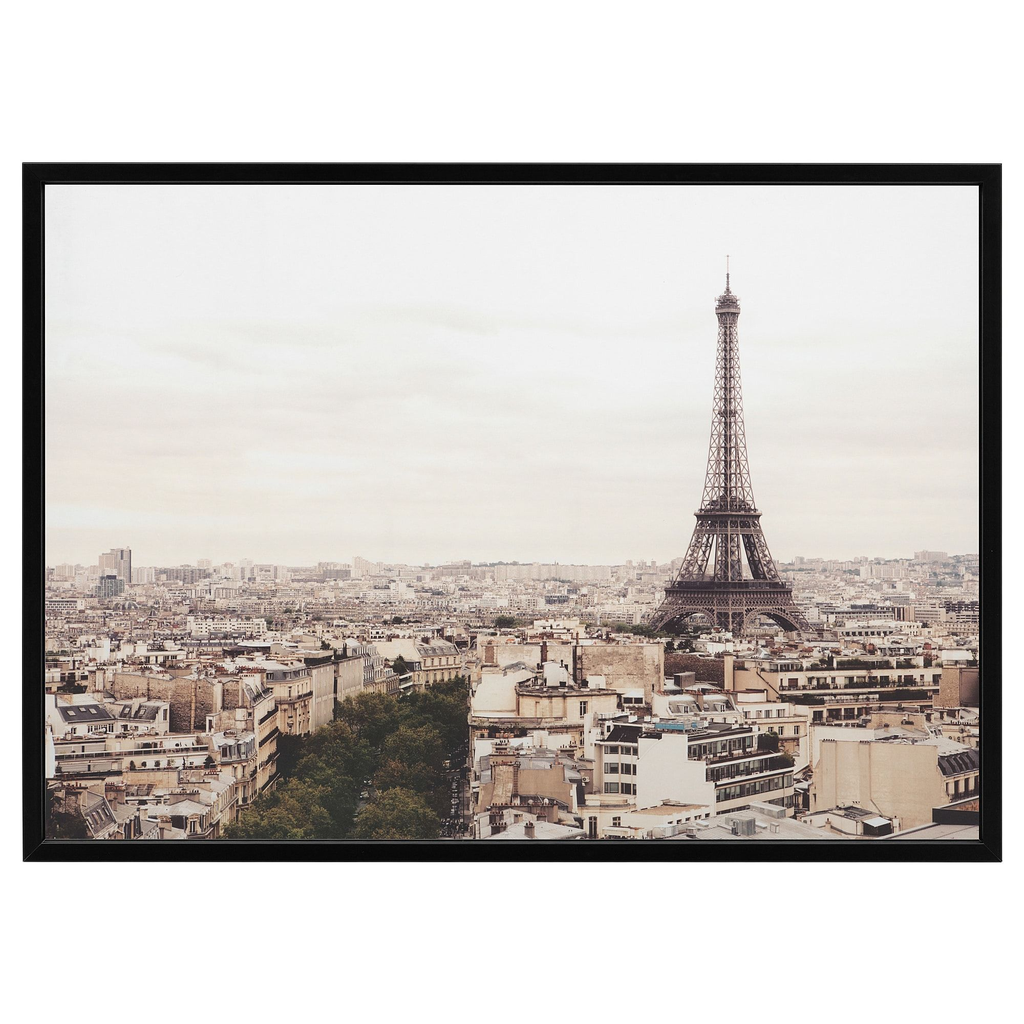 Bjorksta Picture And Frame Paris City Black French Decor Ideas