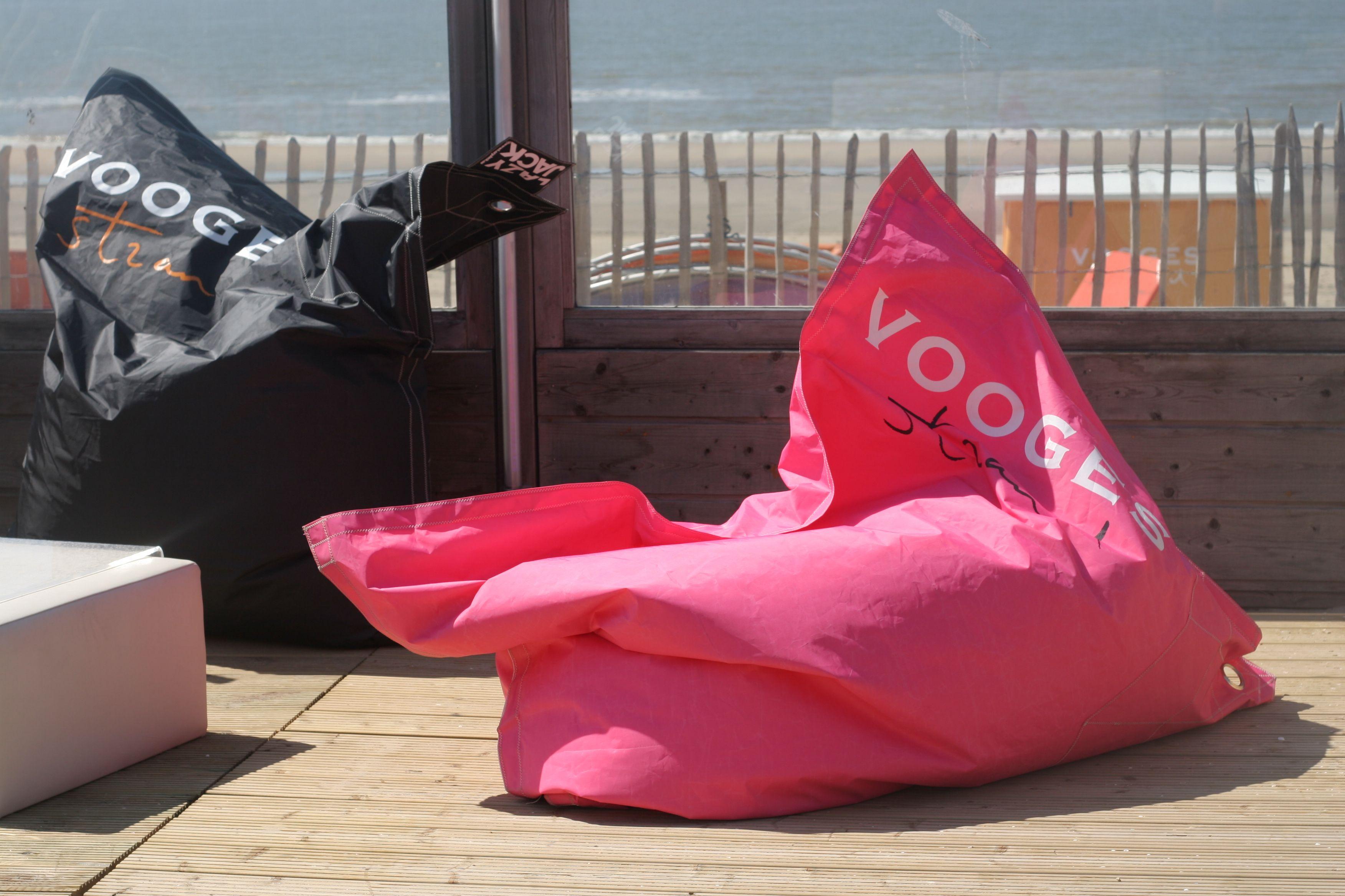 Lazy Jack Personalised Bean Bags Vooges Beach Club Zandvoort The Netherlands