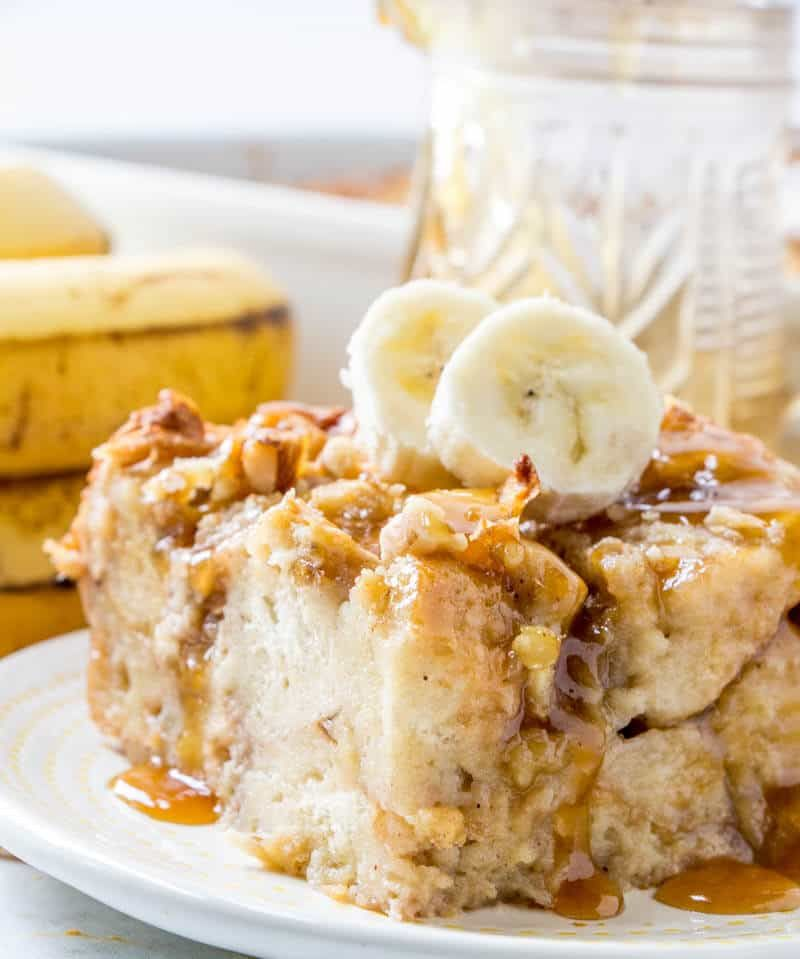 Banana Bread Pudding An Easy And Delicious Breakfast Recipe Bananabread Breadpudding Breakfast Recipe Banana Bread Pudding Delicious Breakfast Recipes Bread Pudding