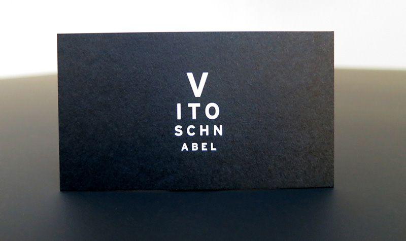 Stilvolle Schwarze Visitenkarten Mit Herrlichem Vorschlag