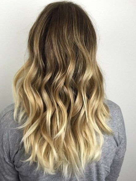 Golden Blonde and Blonde Balayage, Ideas for ash blonde and silver ombre  hair