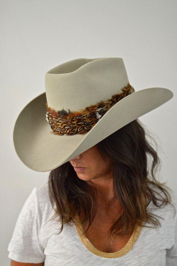 5X Beaver Resistol Cowboy Hat 7 1 8 Unisex by CowboyHookup on Etsy ... 26a6c660534