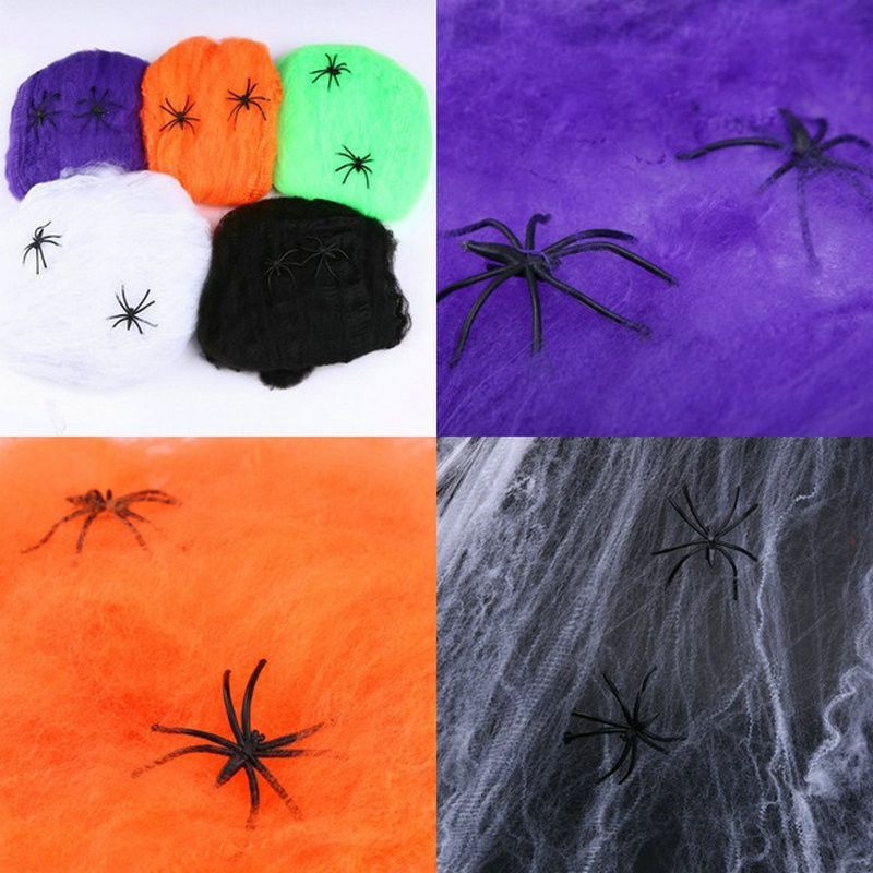 Halloween decoration- 5 color spider web Products Pinterest - spider web halloween decoration